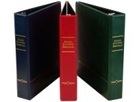 Deluxe Estate Planning Binders with Angle D-Rings